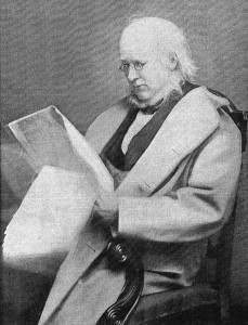 Horace Greeley, who put the po' in poetry.