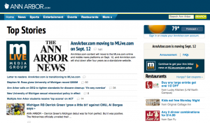 AnnArbor.com headlines its own change-of-address form.