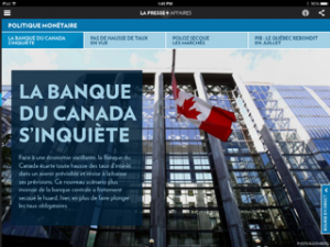 La Presse's new app cost millions to design -- but it looks worth it.