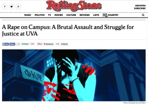 Rolling Stone's story about a college's response to a rape report is important. But is it fair?